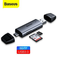 USB 3.0 Card Reader USB Type C OTG Dual Slot Memory Card Adapter for MacBook