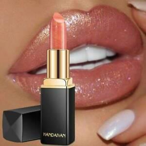Matte to Glitter Metallic Liquid Lipstick Waterproof Matte Lip Gloss Tint Makeup