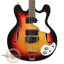 VINTAGE 1960'S MOSRITE CELEBRITY III HOLLOW BODY ELECTRIC BASS GUITAR