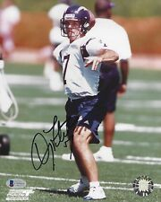 Doug Flutie Signed Chargers Football 8x10 Photo BAS Beckett COA BC QB Autograph