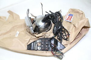 FXR wiring harness + ignition w/ key + electrical panel + headlamp 1985 EPS20004