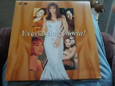 "Everlasting Gloria Estefan 12"" laserdisc 1995 sony"