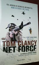 TOM CLANCY-  NET FORCE  - Steve Perry -  Rizzoli HD 2010