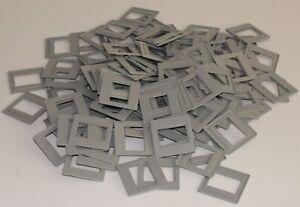 100 Stück HAMAFIX-Rahmen 1030 grau 24x36 5x5 HAMA KB-Rahmen Kleinbild Diarahmen