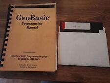 GEO Basic GEOS Berkely software eseguito MAGAZINE COMMODORE 64 128 versione del disco.