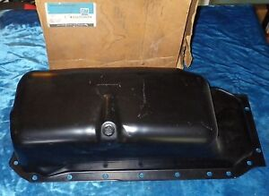 NOS 1985-1987 CADILLAC OIL PAN ASSEMBLY 8 Cyl 4.1L GM #1626004 DEVILLE FLEETWOOD