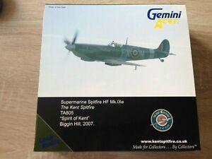 Gemini Aces GARAF1007 Spitfire MKIXe Spirit of Kent Biggin Hill Undisplayed MIB