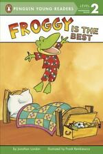 Froggy Is the Best, London, Jonathan, Good Condition, Book