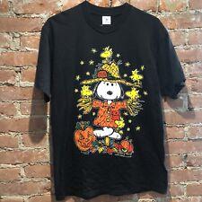 Vintage Snoopy Halloween Shirt Peanuts Charlie Brown Mens L-XL