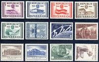 ÖSTERREICH, Jahrgang 1955, komplett tadellos postfrisch, Mi. 100,-