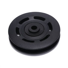 90mm Black Bearing Pulley Wheel Cable Gym Equipment Part Wearproof gym toolSC