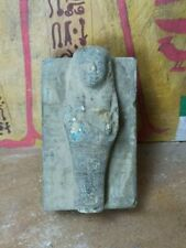 Egyptian Antique Coffin Mummy Sculpture Amazing Model Rare Figurine Statue