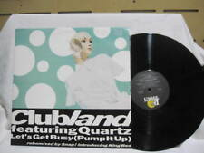 CLUBLAND & QUARTZ 2 LETS GET BUSY VINYL EP RECORD 12""