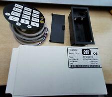 Tresorschloß Elektronikschloß GST DFS-SB *NEU incl. Tastatur Kabelsatz Battbox !