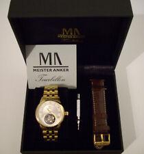 Meister Anker Luxus Tourbillon Gold Limited Nr. 088 / 100 Uhr Neu UVP: 3299 €