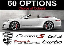 porsche 911 decals sticker carrera targa turbo gt2 gt3 s turbo carrera 2