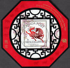Canada 2002 Year of the Horse Souvenir Sheet Used