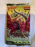 Yugioh Crossroads of Chaos Sealed Booster Pack Brand New