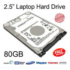 "80GB 2.5"" SATA Internal Hard Disc Drive HDD for Dell Latitude D830 Laptop"