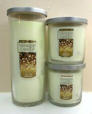 Yankee Candle ALL IS BRIGHT Pillar and Tumbler Lot of 3