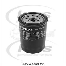 New Genuine MEYLE Engine Oil Filter 30-14 322 0009 Top German Quality