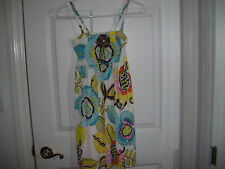 Les Tout Petits Girl's Print Dress Size 14 New With Tags