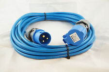 Caravan/Camping Hook Up powerCable in 2.5mm² cable 15MTR in Blue see our shop
