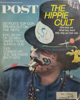 Saturday Evening Post Sept 23 1967 The Hippie Cult LSD Acid - Smothers Brothers