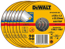 DeWALT Cutting Disc For Metal Steel INOX Stainless 125mm Super Thin 1.2mm Blade