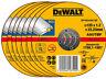 DeWALT Cutting Disc For Metal Steel INOX Stainless 125mm x 1.2mm Superthin Blade