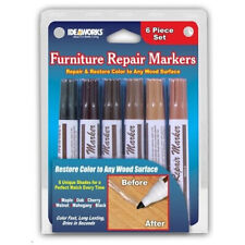 Set of 12 Assorted Furniture Repair Markers For Scratches Stains Wood Filler