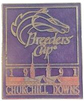 1991 Breeders Cup Churchill Downs Collectors Pin