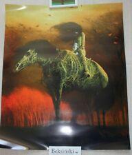 Original Poster by Zdzislaw Beksinski 148#  60cm  x 72cm