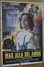 Used - Sign Cinema Mas Alla Del Love Vintage Movie Film Poster - Used