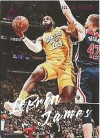 Z3) 2019-20 Panini Chronicles Luminance LeBron James Pink SP Los Angeles Lakers