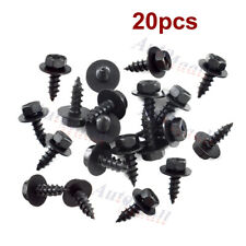 20pcs Bumper Fender Splash Shield Rivet Clip Bolt Screw Fastener 6x19mm for BMW