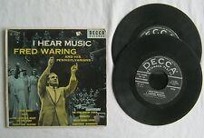 I Hear Music Fred Waring & Pennsylvanians 2 EP45 Decca ED557 VG