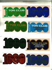 Nice Lot Of (8) 1000 Ton Club North American Coal Co. Coal Mining Sticker # 35