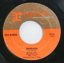 Hear! Rock & Roll Teen 45 Dale Mcbride - Barbara / I Cant Ever Free My Mind On R