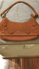 Tan Purse, Nice Stitching and Design, Really Cute Bag