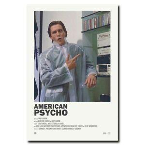 American Psycho 28x30 24x366inch 80s Classic Horror Movie Silk Poster