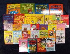 31 HORRID HENRY ADVENTURES by FRANCESCA SIMON ** FREE UK POST **