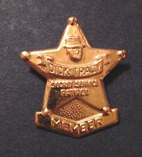 Original Vintage (1950's) Dick Tracy Member Badge Pin! Wonderful Old Toy! Crime