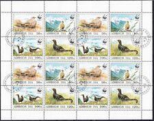 WWF Zusammendruck Aserbaidschan 1994 Kleinbogen