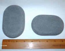 HOT STONE MASSAGE: XL Shaped Basalt Stone for Sacrum 11 x 7 x 3 cm