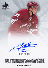 11-12 SP Authentic Andy Miele /999 Auto Rookie Future Watch FW RC