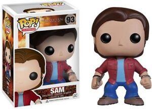 Funko POP! TV: Supernatural Join The Hunt SAM Figure #93 DAMAGE BOX
