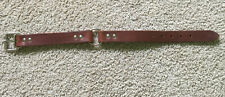 """19"""" Inch Leather Collar Bully Collar 1"""" Wide"""