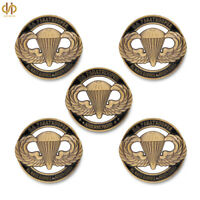 5PCS US Military Always Earned Never Given U.S Paratrooper Challenge Coin/Medal