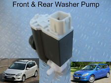Front & Rear Windscreen Washer Pump For Hyundai i30 SW Estate 2007 to 2011